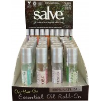ON-THE-GO ESSENTIAL OIL ROLL-ONS (SINGLE OILS - 24 PER CASE)