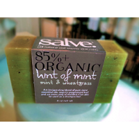 HINT OF MINT (Mint & Wheatgrass)  [85%+ Organic Bar Soap]